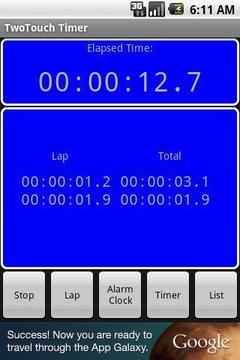 TwoTouch Timer Beta