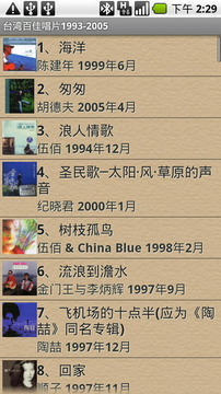 台湾百佳唱片1993-2005