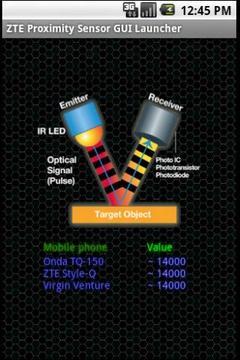 ZTE Proximity sensor Tool