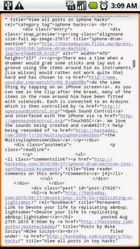 查看页面源代码