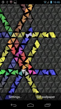 Nexus Cube - Live Wallpaper
