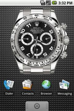 Rolex Black Large Widget 4x3