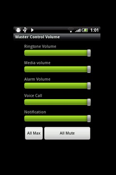 Master Control Volume