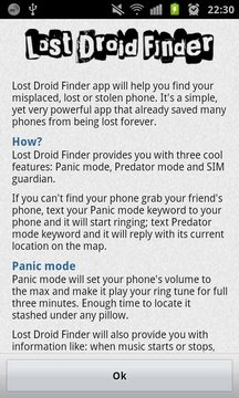 Lost Droid Finder · Lost Phone