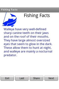 Fishing Facts