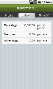 Mobile Paycheck by SurePayroll