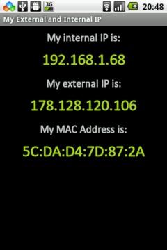 My External and Internal IP