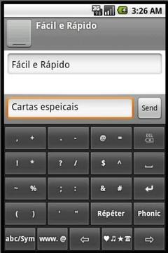 Phonic Keyboard Portuguese