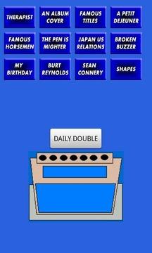 SNL Celeb Jeopardy Sound Board