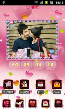 Valentine's Day Countdown LWP