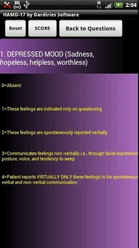 Brief Psychiatric Rating scale