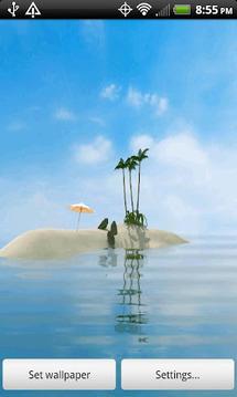 Island Oasis FREE Live Wallpap