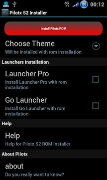 Pilotx S2 ROM Installer