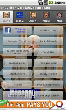 Celebrity Jeopardy Soundboard
