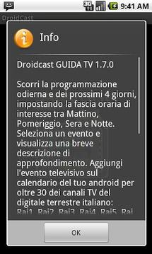 Guida TV Droidcast