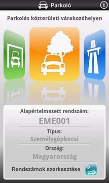 Mobilparkolás & E- Matrica