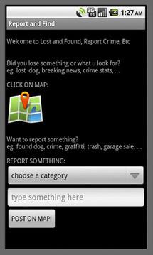 Lost & Found, Crime Watch, Etc