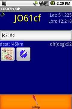 QTH Locator Droid