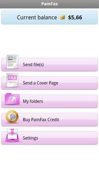 PamFax - Send/receive faxes