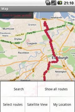 爱丁堡公共汽车跟踪器