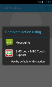 SMS Leb - MTC Touch Support