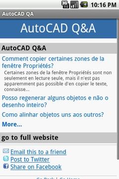 AutoCAD Q&A