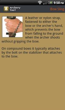 Archery Tool