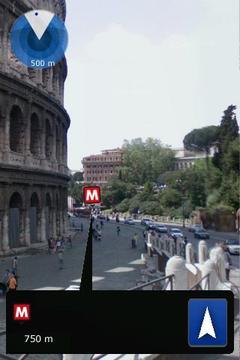 Rome Metro Augmented Reality