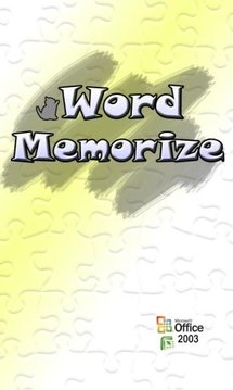word memorize(excel interlock)
