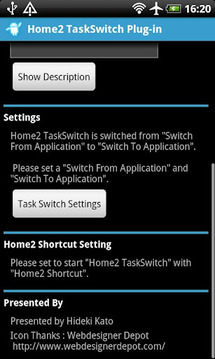 Home2 TaskSwitch