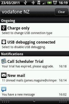 Call Scheduler Trial