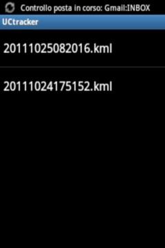 UC tracker - GPS logger