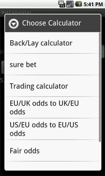 Bet Calculator 8 in 1