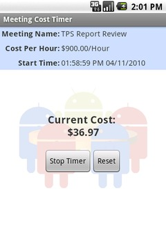 Meeting Cost Timer Lite