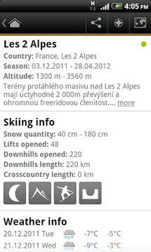 Ski Map - winter resorts