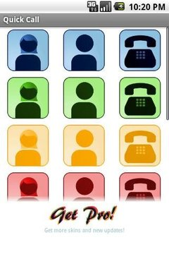 Quick Call Widget