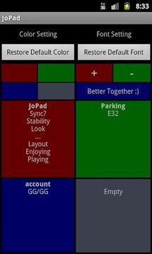 JoPad (memo/notepad)
