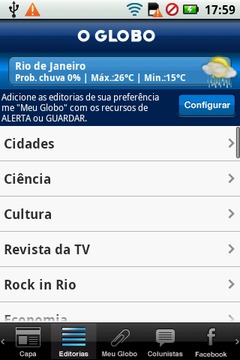 Noticias - Jornal O Globo
