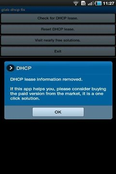 Galaxy Tab DHCP Fix Free