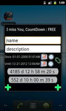I miss You, CountDown : FREE