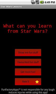Star Wars Lessons