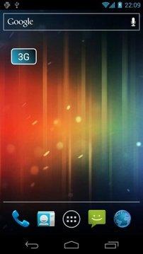 3G Notifier Widget