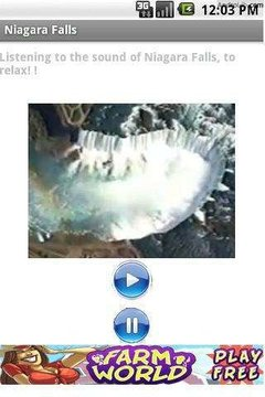 尼亚加拉瀑布声