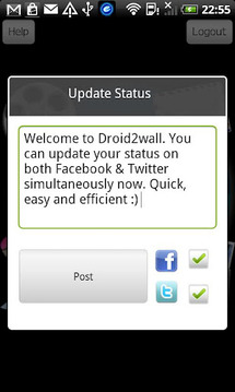 Droid2Wall