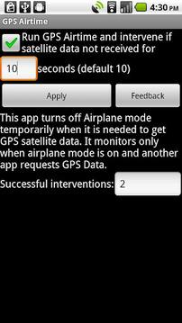 GPS Airtime
