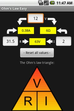 Ohm's Law Easy