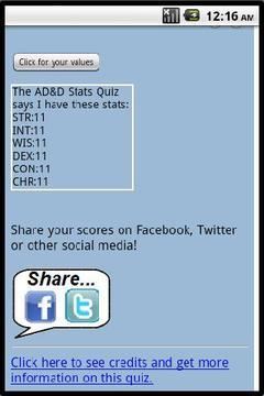 AD&D Stats Quiz