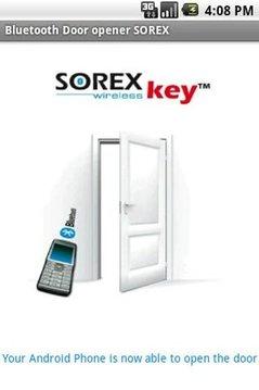 Bluetooth Door opener SOREX