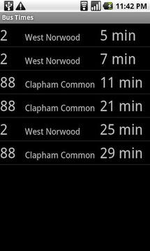 Next Bus London