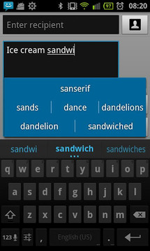 Spanish for ICS keyboard